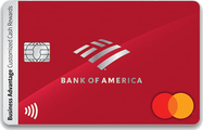 Bank of America® Business Advantage Customized Cash Rewards Mastercard® credit card
