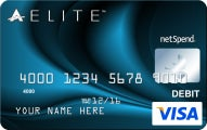 ACE Elite™ Blue Visa® Prepaid Debit Card