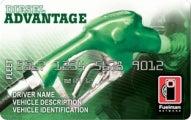 The Fuelman Diesel Advantage FleetCard