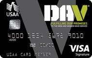 Disabled American Veterans USAA Rewards™ Visa Signature® Card