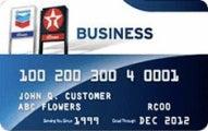 Chevron and Texaco Business Card