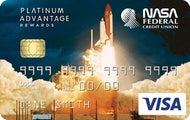 NASA Federal Visa® Platinum Advantage Rewards