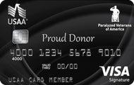 Paralyzed Veterans of America USAA Rewards™ Visa Signature® Card