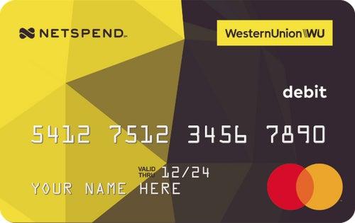 Western Union® Netspend® Mastercard® Prepaid Card