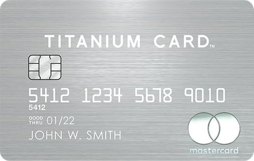 Mastercard® Titanium Card™ review