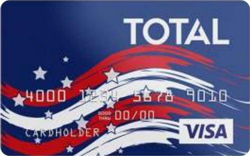 Total Visa® Patriotic Card