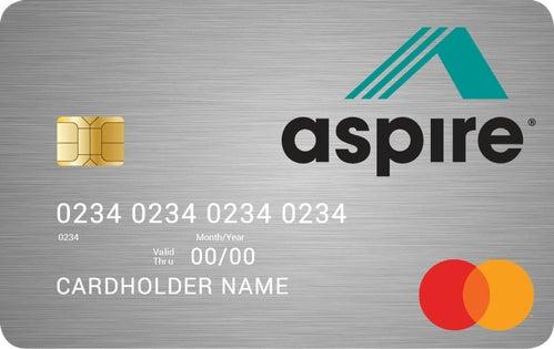 Aspire® Cashback Rewards Credit Card