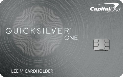 Capital One QuicksilverOne Cash Rewards Credit Card review