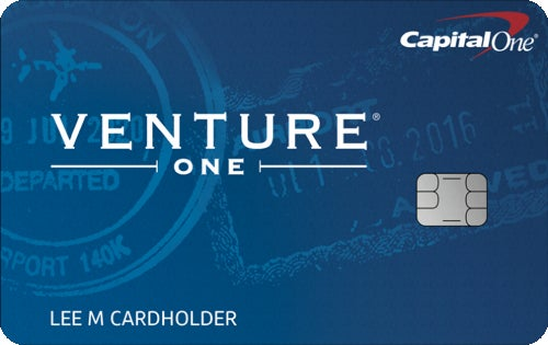 Capital One VentureOne Rewards Credit Card review