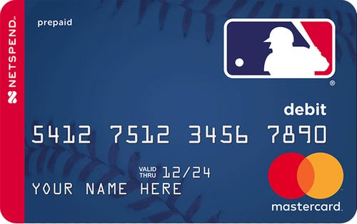 Netspend® Prepaid Mastercard® - Proud Partner of MLB® - Apply