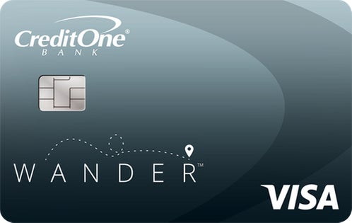 Credit One Bank® Wander™ Card with No Annual Fee review