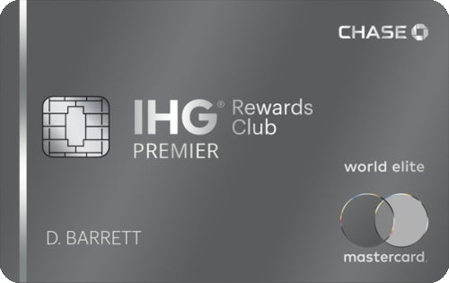 IHG® Rewards Club Premier Credit Card review