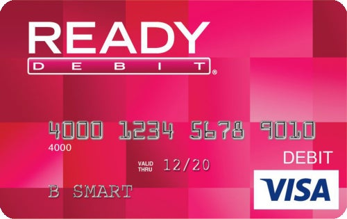 READYdebit® Visa Prepaid Card - Apply Online - CreditCards.com