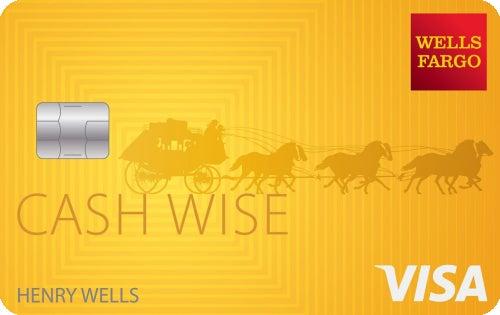 Wells Fargo Cash Wise Visa® card
