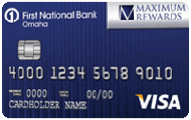 First National Bank Maximum Rewards Visa card review