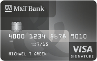 M&T Visa Signature card review