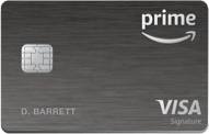 Amazon Prime Rewards Visa Signature card review