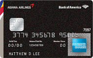 Bank of America Asiana Airlines American Express card review