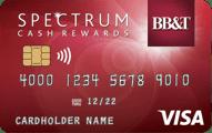 BB&T Spectrum Cash Rewards credit card review