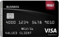 BB&T Visa Signature Business card review