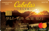 Cabela's CLUB Mastercard credit card review