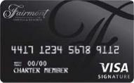 Fairmont Visa Signature card review