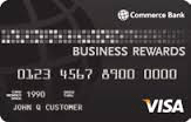 Commerce Bank Business Rewards Visa card review