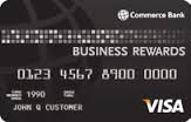 Commerce Bank Business Rewards Visa card review