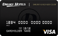 Drury Gold Key Club credit card from Commerce Bank review