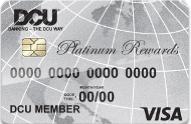 DCU Visa Platinum Rewards credit card review