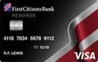 First Citizens Rewards Visa card review