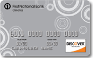 First National Bank Discover card review