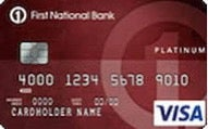 Platinum Edition Visa card from First National Bank of Omaha review