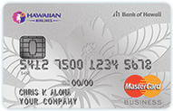 Hawaiian Airlines Business Mastercard card from Barclays review