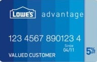 Lowe's Advantage Credit Card review