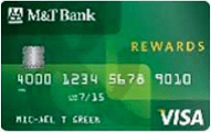 M&T Visa credit card with rewards review