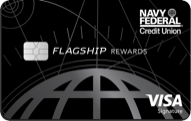 Navy Federal Credit Union Visa Signature Flagship Rewards card review
