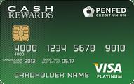 PenFed Platinum Cash Rewards Visa card review