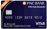 PNC Cash Rewards Visa Signature Business card review