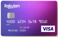 Rakuten Cash Back Visa Credit Card review