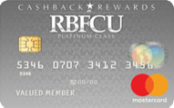 RBFCU CashBack Rewards card review