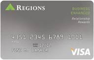 Regions Visa Business Enhanced card review