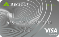 Regions Prestige Visa Signature credit card review