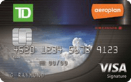 TD Aeroplan Visa credit card review