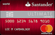 The Ultimate Cash Back card from Santander Bank review