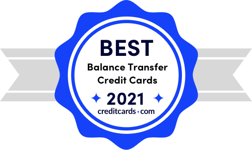 best balance transfer credit cards of 2021