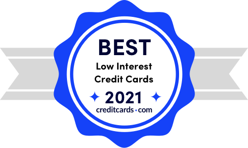 best low interest credit cards of 2021