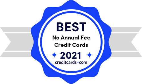 best no annual fee credit cards