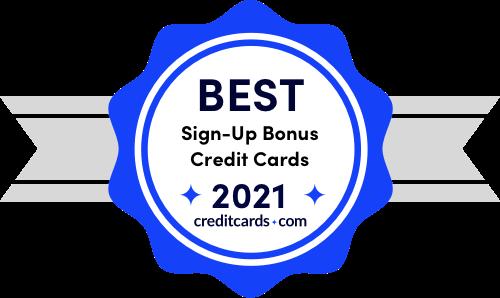 best credit card signup bonuses of 2021